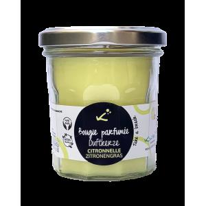 Zitronengras Duft-Kerze