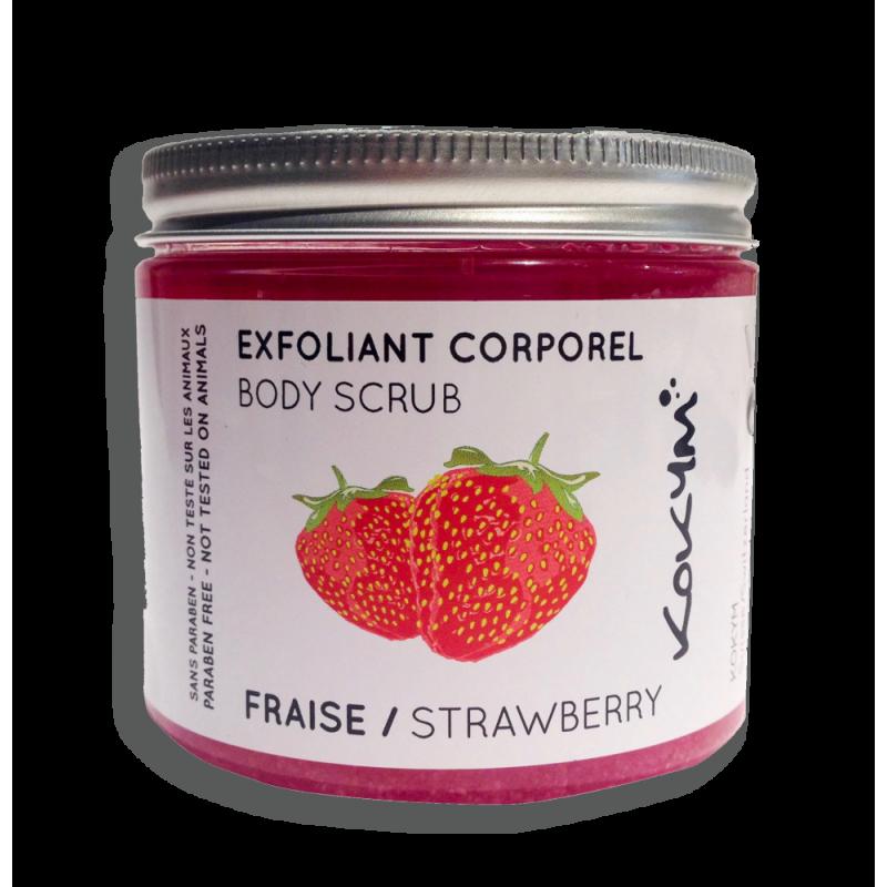 Erdbeer Körper-Peeling
