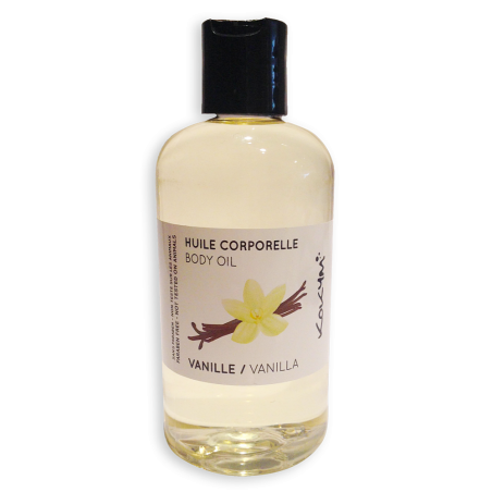 Huile Corps Vanille