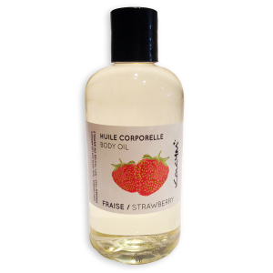 Huile Corps Fraise