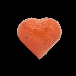 Erdbeer Herzbadekugel