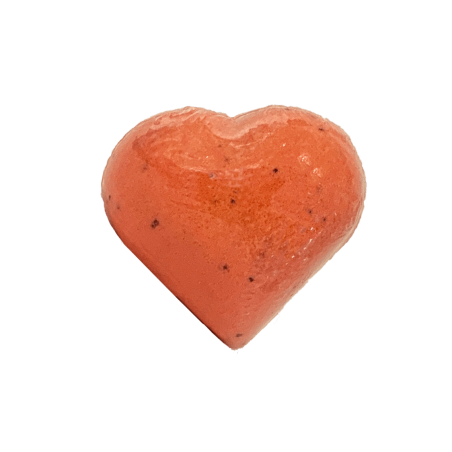 Coeur de bain Fraise