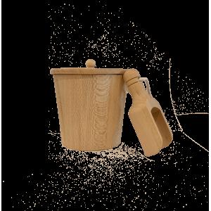 Pot + Pelle pour sels de bain