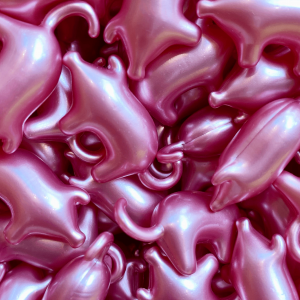 Perles de bain Cochon