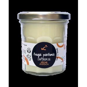 Pfirsich Duft-Kerze