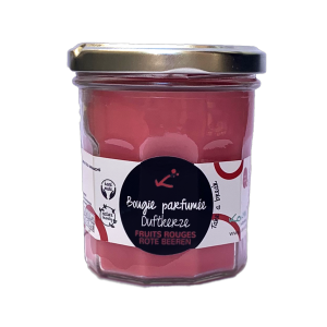 Rote Beeren Duft-Kerze