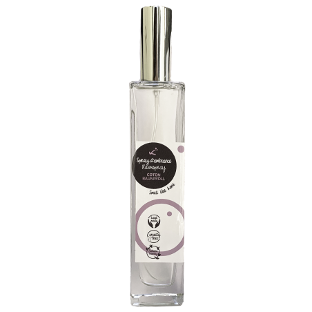 Spray d'ambiance Coton